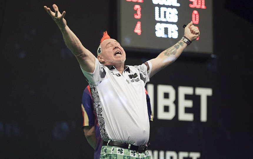 Dart Reviews - Peter Wright
