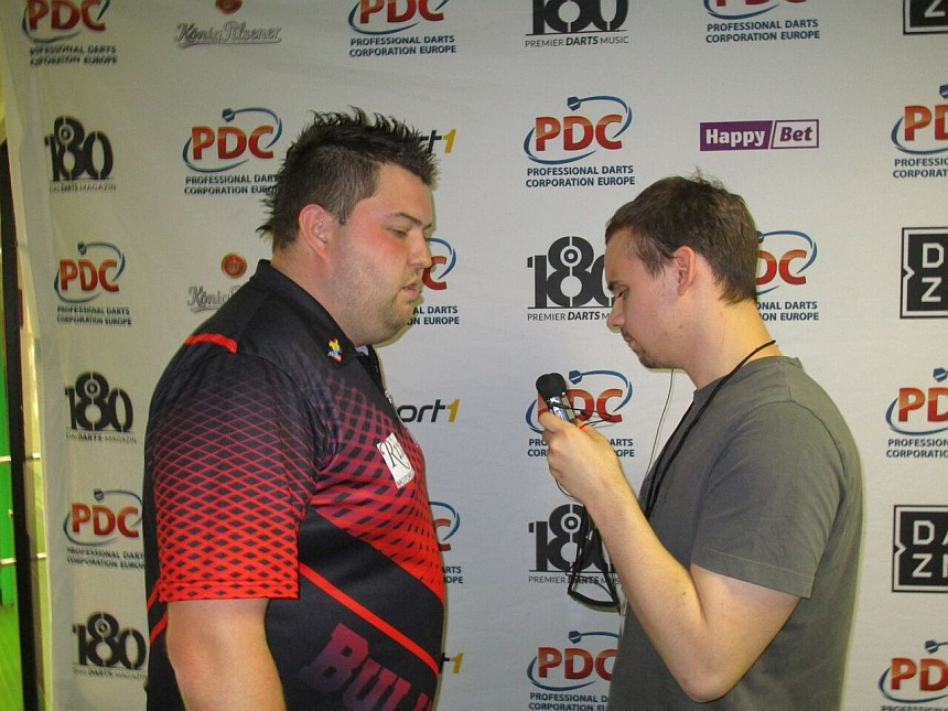 Interview Michael Smith European Darts Grand Prix 2017