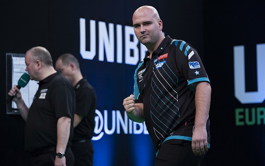 Interview Rob Cross European Championsip 2018