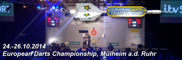 European Darts Championship 2014 - RWE Arena Mülheim a.d. Ruhr