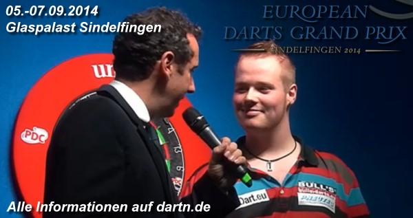 European Darts Grand Prix 2014 - Glaspalast Sindelfingen