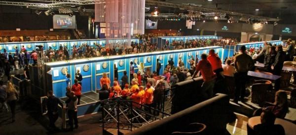 Die Halle in der am Freitag die Dutch Open 2016 stattfinden