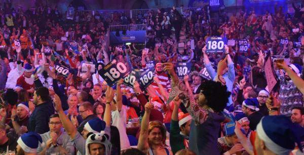 Die Fans im Ally Pally - PDC Dart WM 2017