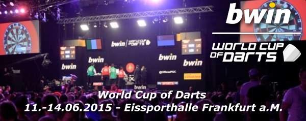 World Cup of Darts 2015 - Alle Informationen