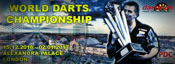 PDC Dart WM 2017 in London