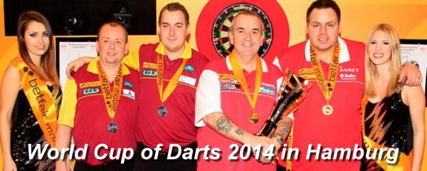 World Cup of Darts Hamburg 2014 - PDC Team Weltmeisterschaft