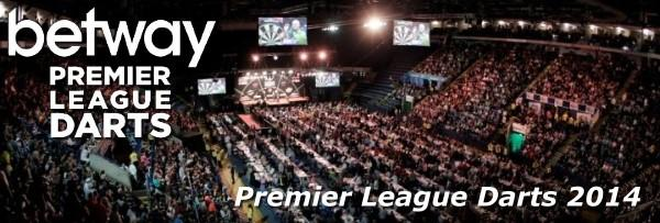 Premier League Darts 2014 - Alle Informationen bei dartn.de
