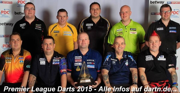 Premier League Darts 2015 - Alle Informationen