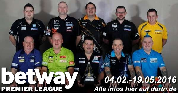 Premier League Darts 2016 - Alle Informationen