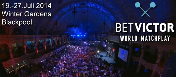 World Matchplay 2014 Winter Gardens Blackpool