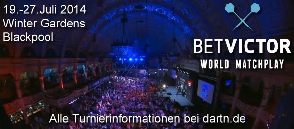 World Matchplay Winter Gardens Blackpool 2014