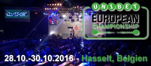 28.-30.10.2016 - European Championship 2016 in Hasselt / Belgien