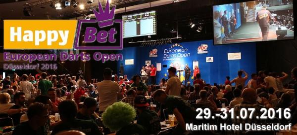 European Darts Open 2016 - Maritim Hotel Düsseldorf