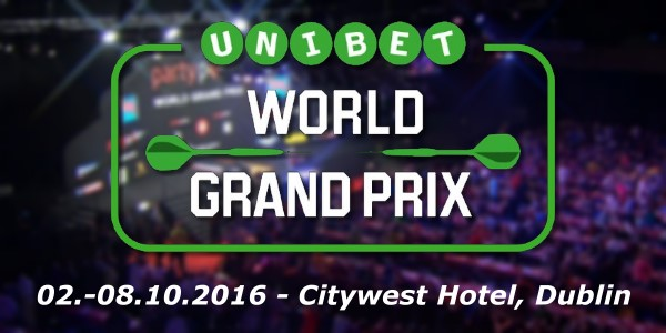 PDC World Grand Prix 2016 im Citywest Hotel, Dublin