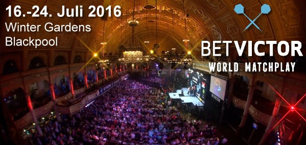 World Matchplay 2016 Winter Gardens Blackpool