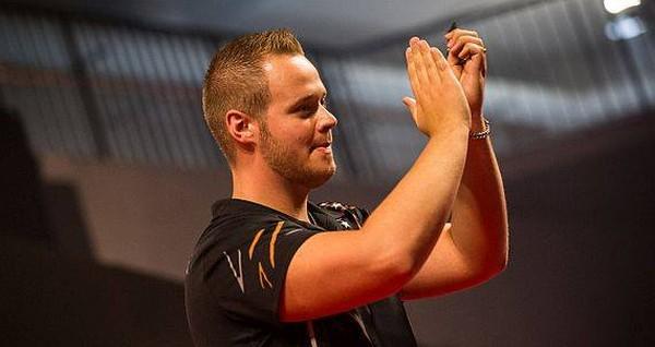 Max Hopp erreichte sein erstes PDC European Tour Viertelfinale!