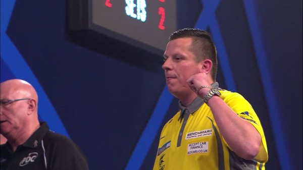 PDC Dart WM 2017 - Runde 2 - Dave Chisnall