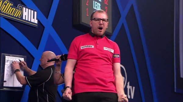 PDC Dart WM 2017 - Runde 2 - Mark Webster