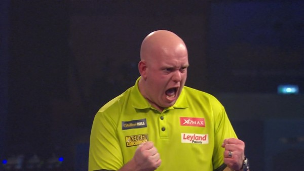 PDC Pro Tour UK Open Qualifier Tag 4 Michael van Gerwen