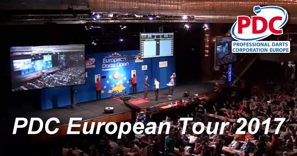 dart european tour
