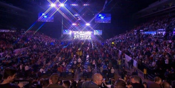 Das Publikum in der Sheffield Arena - Premier League Darts 2016