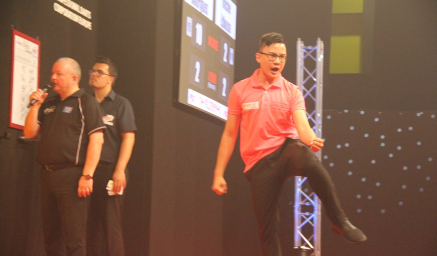 PDC European Tour 2017 Rusty Jake Rodriguez