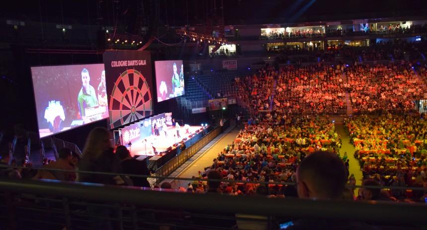 Dart Köln Lanxeß Arena