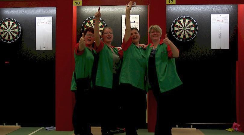 Sieger German Masters 2017 bei den Damen - Team NWDV 1