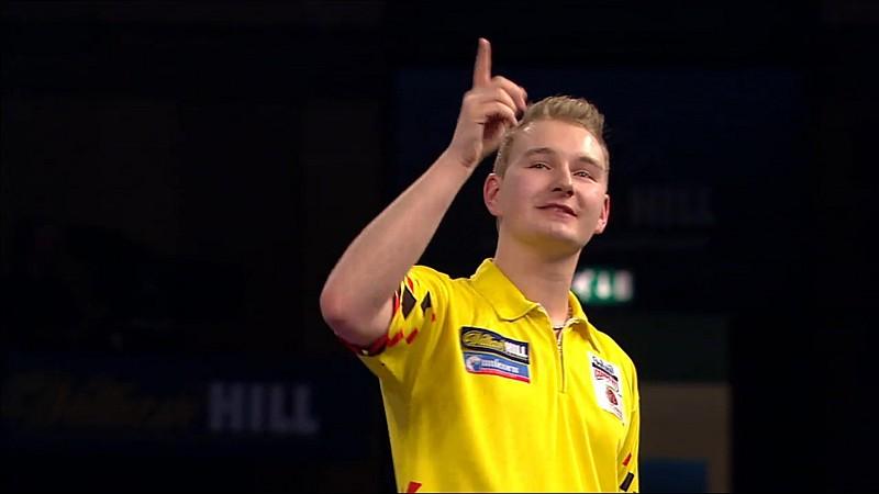 Dimitri van den Bergh gewinnt das Development Tour 6 Turnier 2017