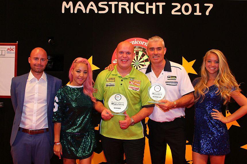 Michael van Gerwen gewinnt die Dutch Darts Masters 2017