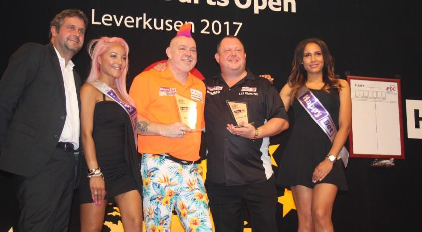 European Darts Open 2017 - Peter Wright gewinnt Finale gegen Mervyn King