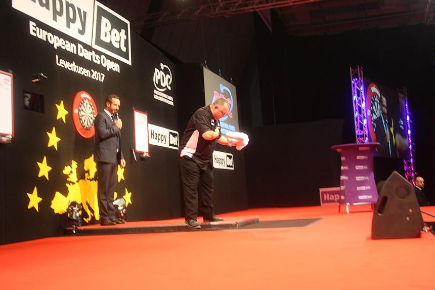 European Darts Open 2017 Finalsession Mervyn King