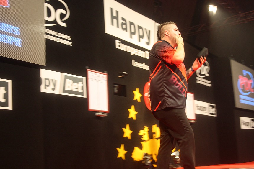 European Darts Open 2017 Finalsession Michael Smith