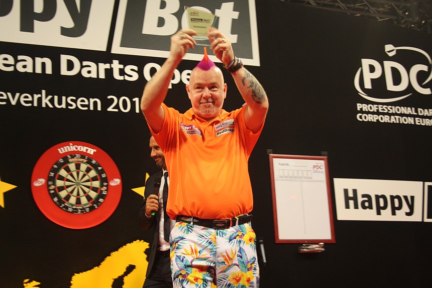 European Darts Open 2017 Finalsession Peter Wright