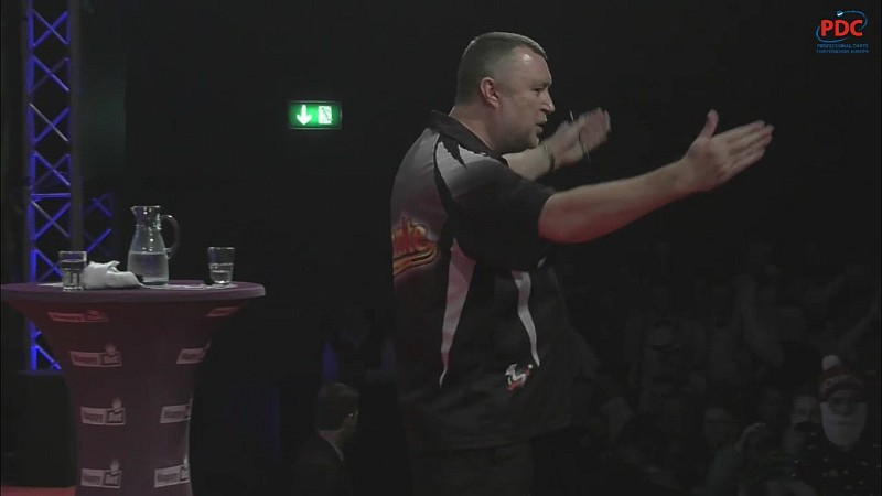 German Darts Championship 2017 Darren Johnson