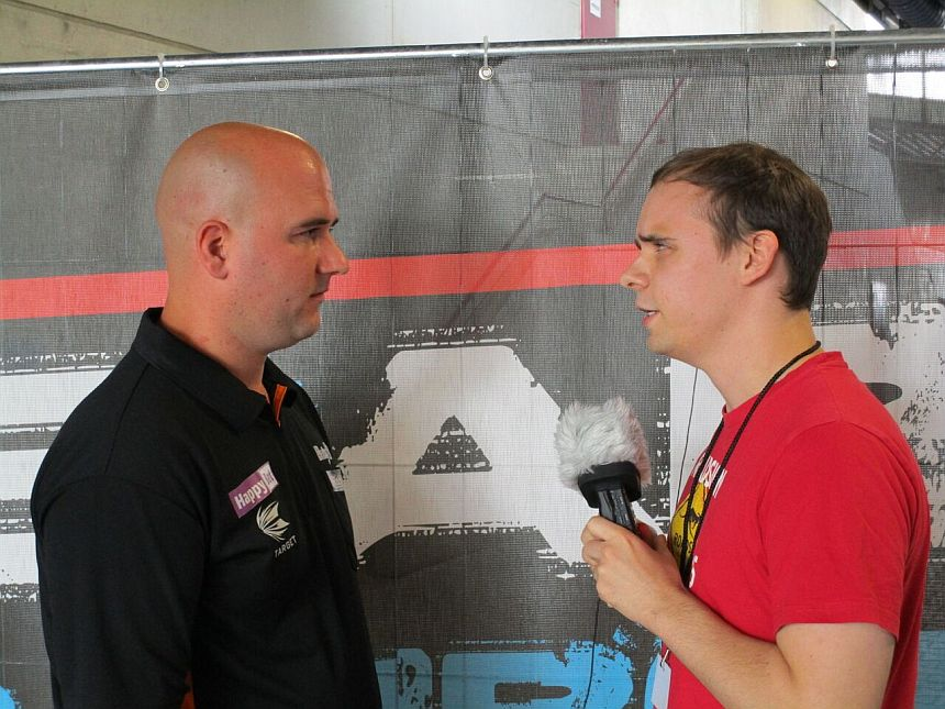 Interview German Darts Grand Prix 2017 - Rob Cross