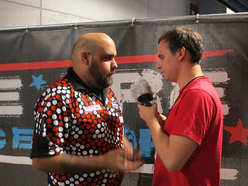 Interview German Darts Grand Prix 2017 - Kyle Anderson