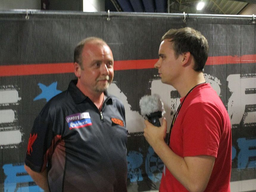 Interview German Darts Grand Prix 2017 - Ronny Huybrechts