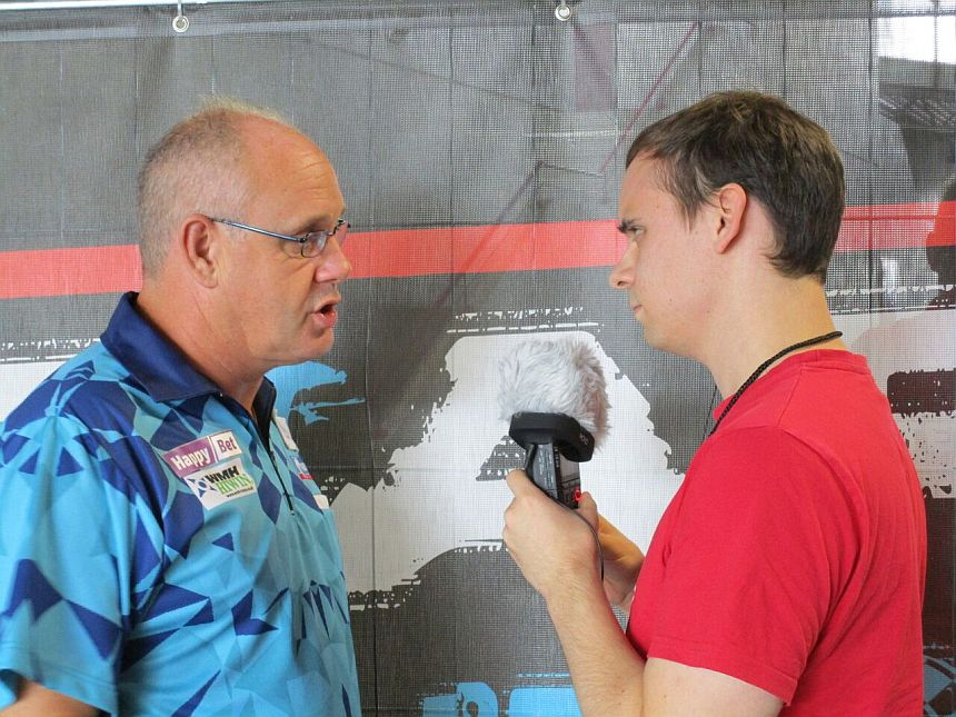Interview German Darts Grand Prix 2017 - Ian White