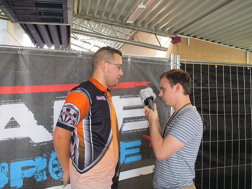 Interview German Darts Grand Prix 2017 - Benito van de Pas