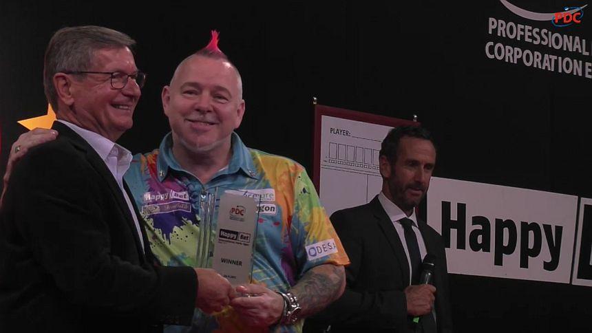 Peter Wright gewinnt die International Darts Open 2017 in Riesa