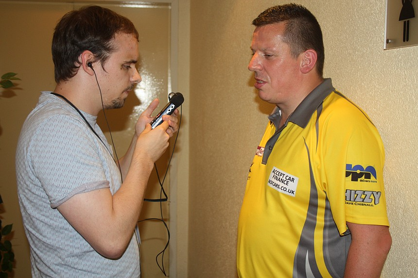 European Darts Open 2017 Interview Dave Chisnall