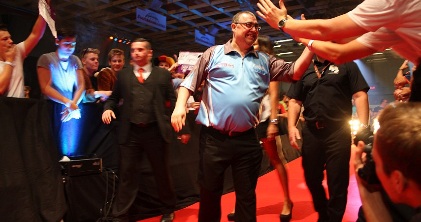 European Darts Open 2017 Interview Peter Jacques