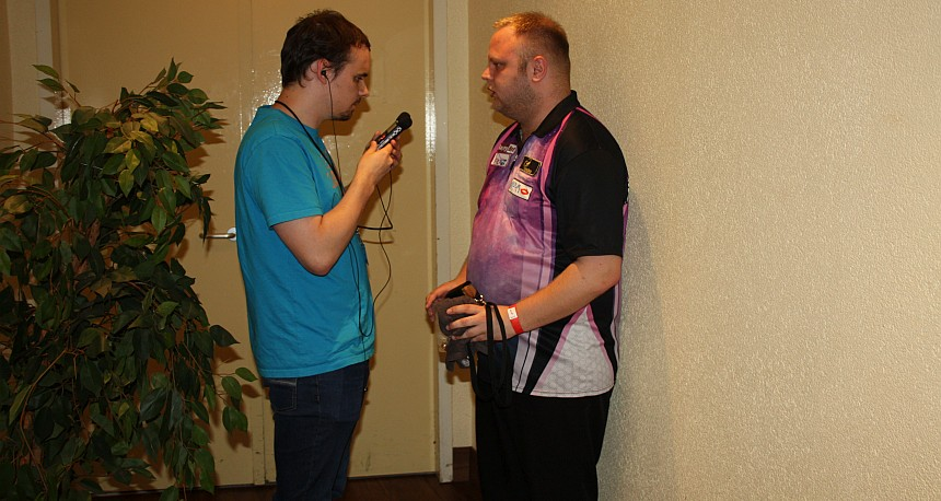 European Darts Open 2017 Interview Robert Allenstein