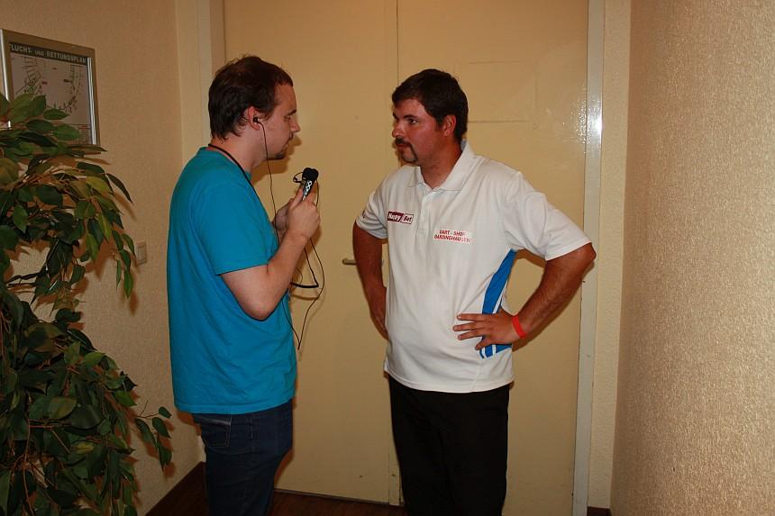 Interview Steffen Siepmann European Darts Open 2017
