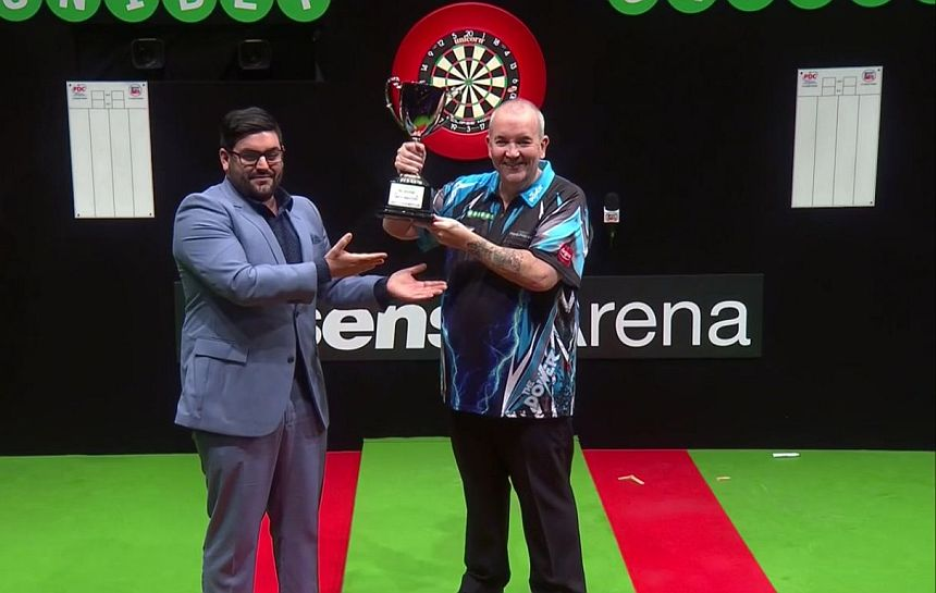 Melbourne Darts Masters 2017 Sieger Phil Taylor