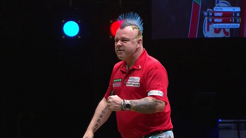 Melbourne Darts Masters 2017 Tag 3 - Peter Wright