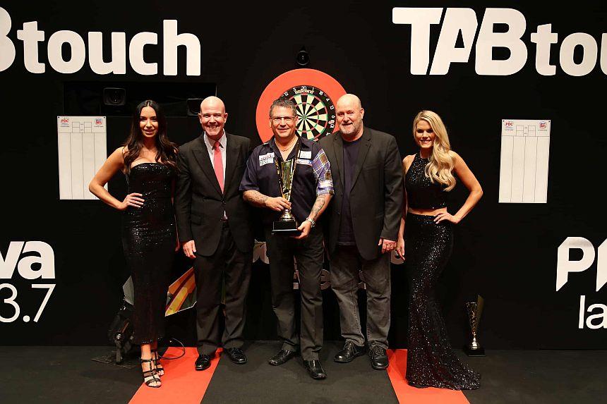 Perth Darts Masters 2017 - Tag 3 - Sieger Gary Anderson
