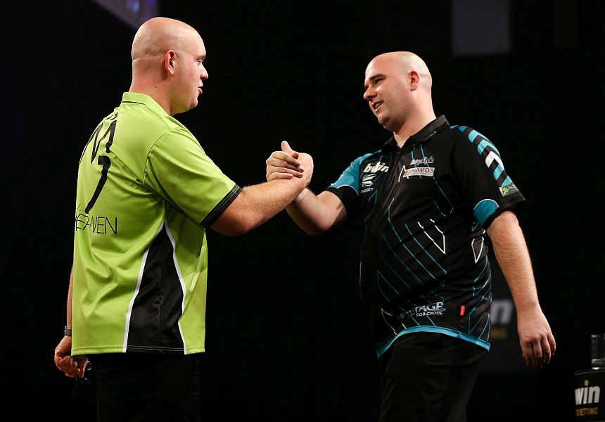 Players Championship Finals 2017 Michael van Gerwen und Rob Cross