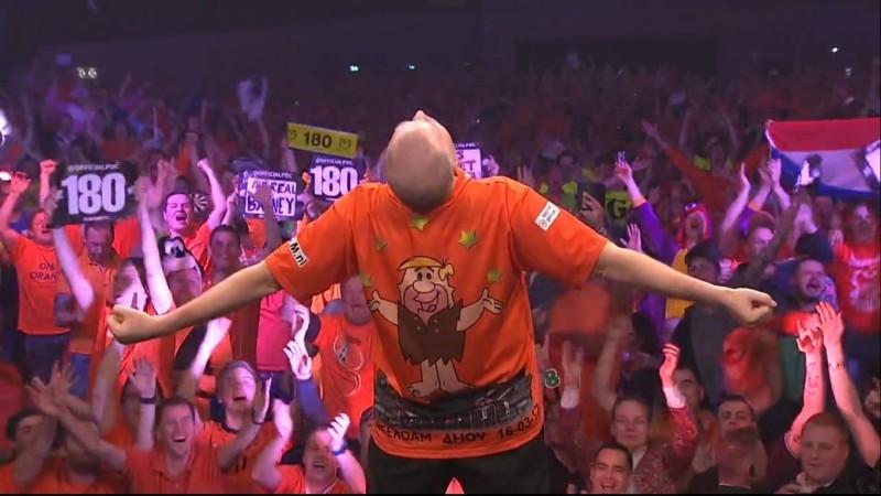 Raymond van Barneveld - Premier League Darts 2017 Spieltag 7 - Rotterdam Ahoi Arena